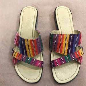 Multi-color Sandals Made in Guatemala